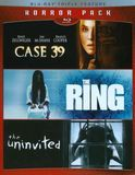 Horror Pack: Case 39/The Ring/The Uninvited [3 Discs] [Blu-ray], 1000381883