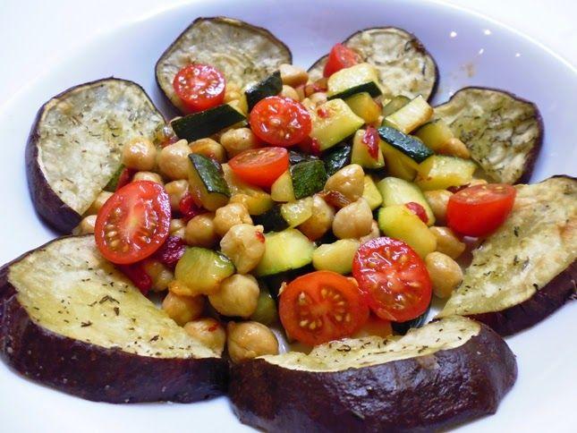 Os legumes continuam por aqui | Batata-doce com legumes salteados |