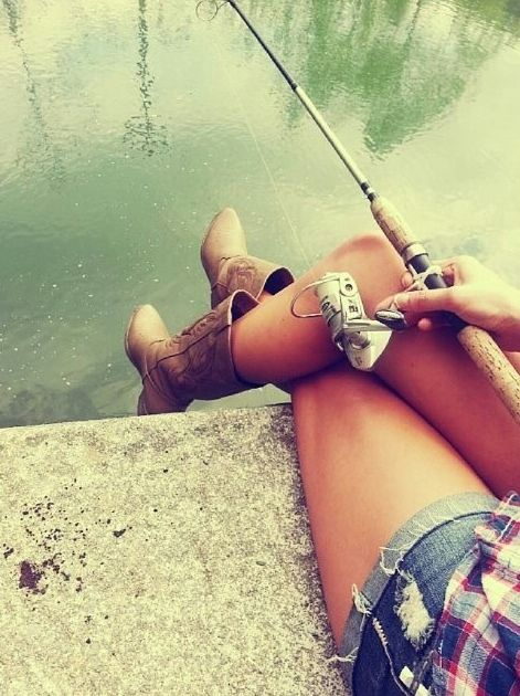 Cowboy boot fishin 39 country pinterest cowboy for Girls gone fishing