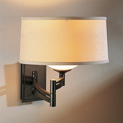 Hubbardton Forge 20-9310 Forged Bar Swing-Arm Wall Sconce - Lighting Universe