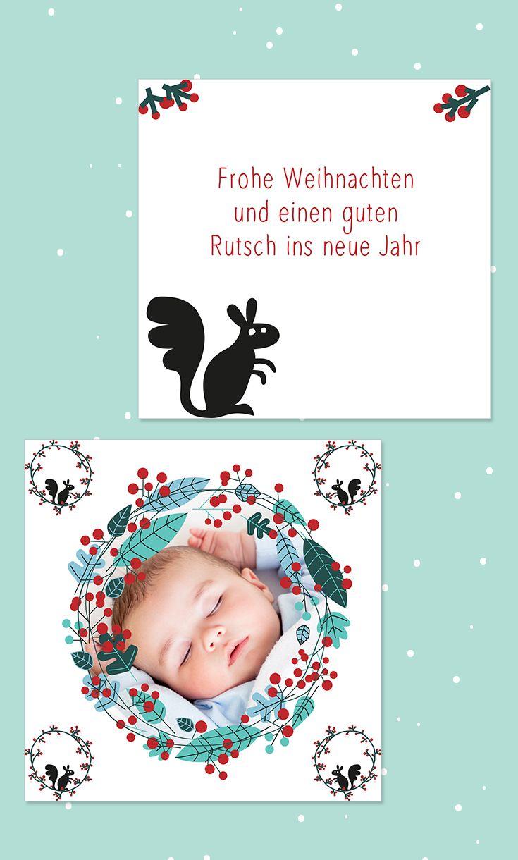 11 besten Weihnachtskarten und Neujahrsgrüße für Familie und Freunde ...