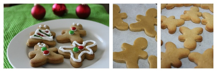 Mummy's Undeserved Blessings: Christmas Gingerbread Men {Weekend Cookbook}