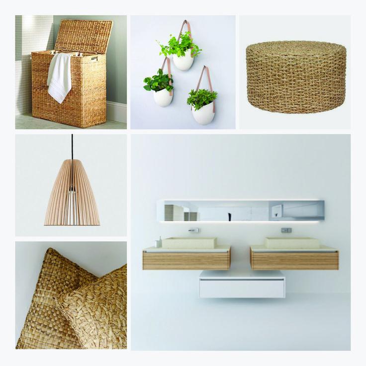 Mueble De Baño Quadro: Mueble modelo QUADRO 30 con acabados de Legno Laminato Zebrano de la