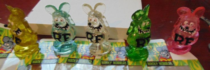 Funko Ed Roth Rat Fink Polystone Resin Wacky Wobbler Bobblehead Figures all 5  | eBay