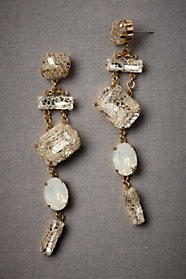 Trussed Twinkles Earrings by Erickson Beamon