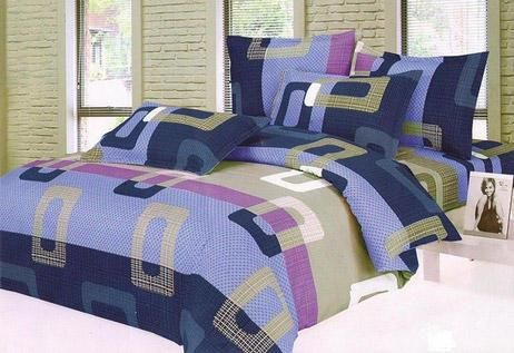 Blue Double Bedsheet Set for Rs. 279. Astounding 72% off!