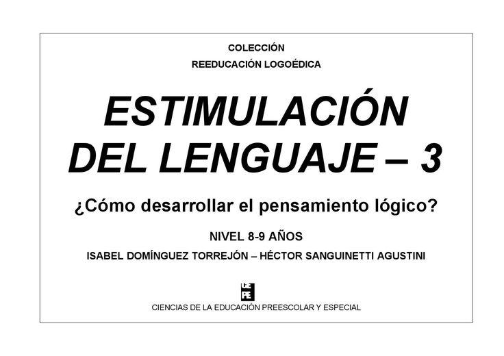 Estimulacion del lenguaje 3 cepe