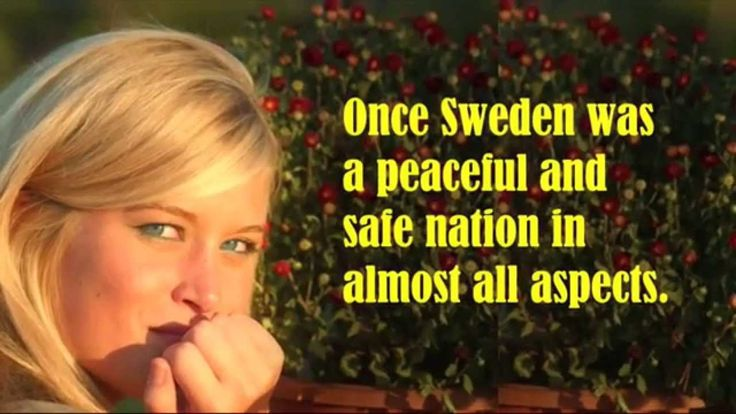 """Welcome to Sweden of Today. Mass immigration, the """"multi-culti"""" attitude, and a scoialist govt is destroying this country. Holland is next. Not mentioned in this short video is the acceptance of contraception and abortion. The USA is heading down this road!"""