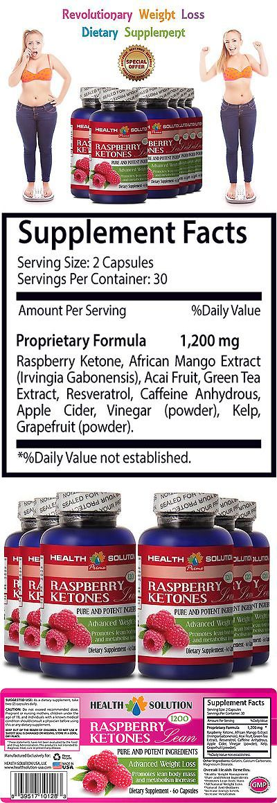 Appetite Control Suppressants: Green Tea Extract - Raspberry Ketones Lean 1200Mg - Diet Pill - 6 Bot 360 Ct -> BUY IT NOW ONLY: $54.95 on eBay!
