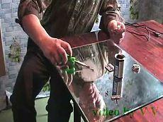 Заточка ножей машинки для стрижки, своими руками.