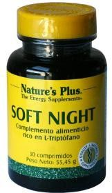 #NaturesPlus #Soft Night, 30 comprimidos #farmaciaonline #farmaconfianza #vitaminas #natural #relajante #dormir #triptofano