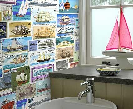 Cute Wallpaper For Beach House Bathroom Wallpaper Is