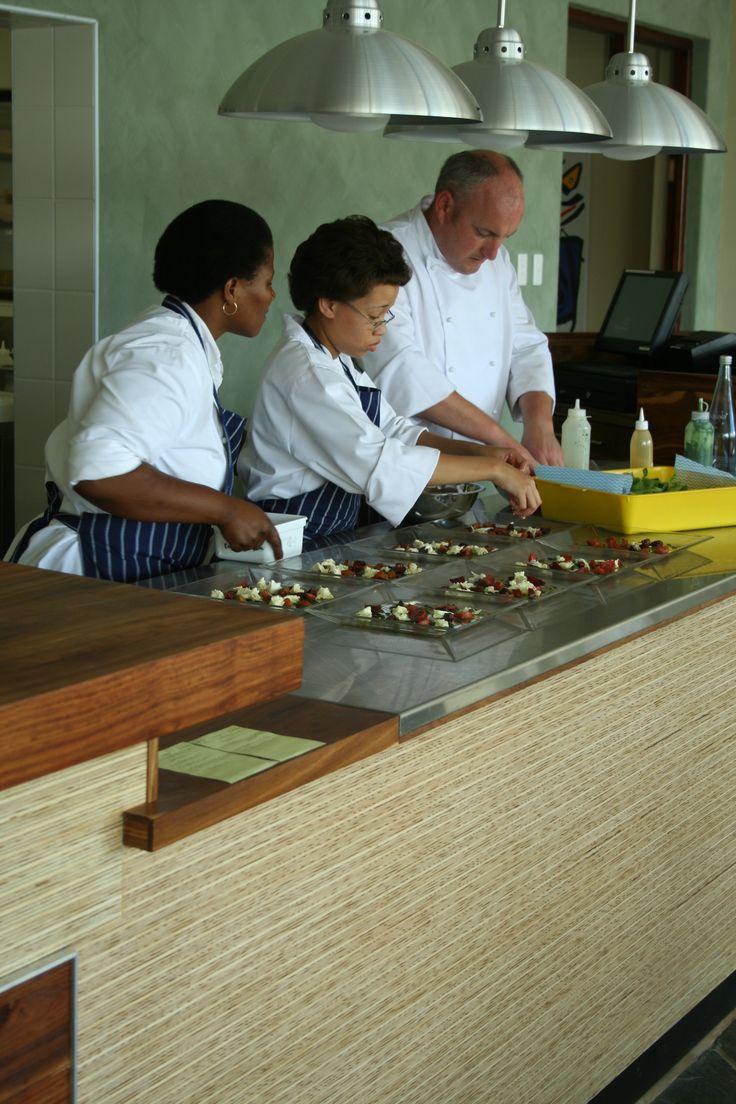 Chef George Jardine in action
