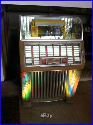 Antique Vintage Seeburg 100 C Jukebox Original Complete