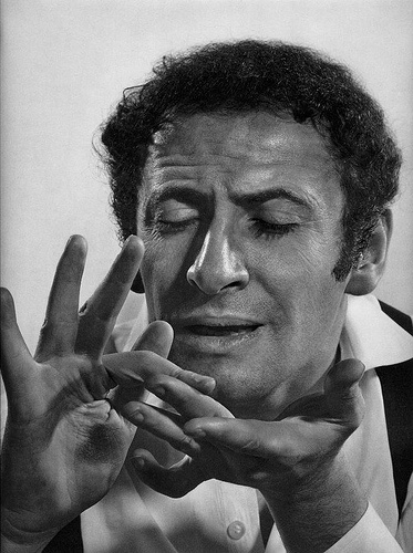 Marcel Marceau by Yousuf Karsh- Interesting, his hands are much more exaggerated when he has paint on his face.