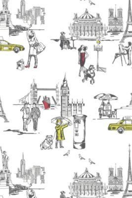 la vie ordinaire wallpaper for downstairs loo maybe?