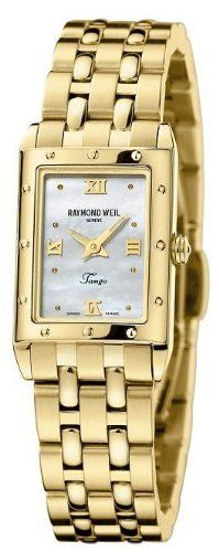 Raymond Weil Tango Gold Plated Ladies Watch 5971-P-00915 Raymond Weil. Save 36 Off!. $799.00