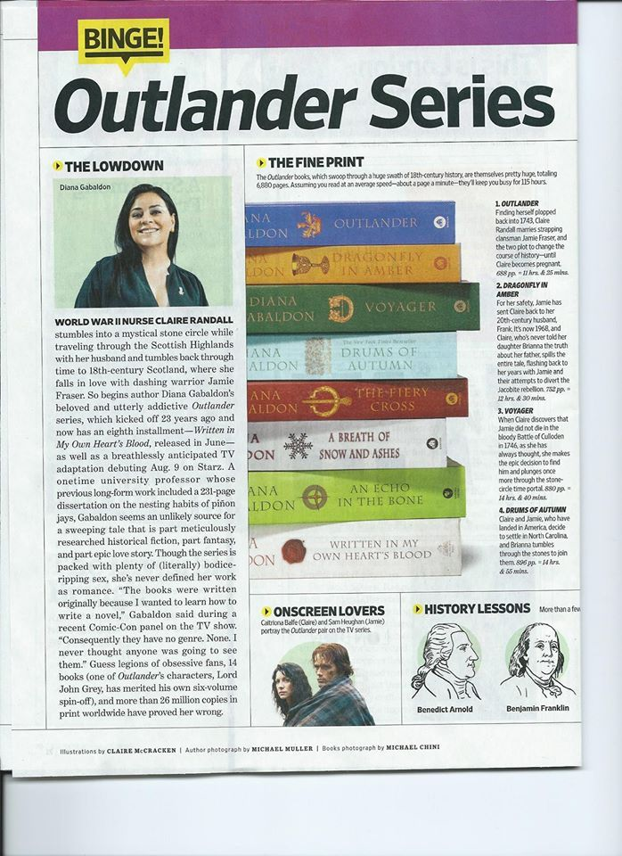 OUTLANDER article page 1....
