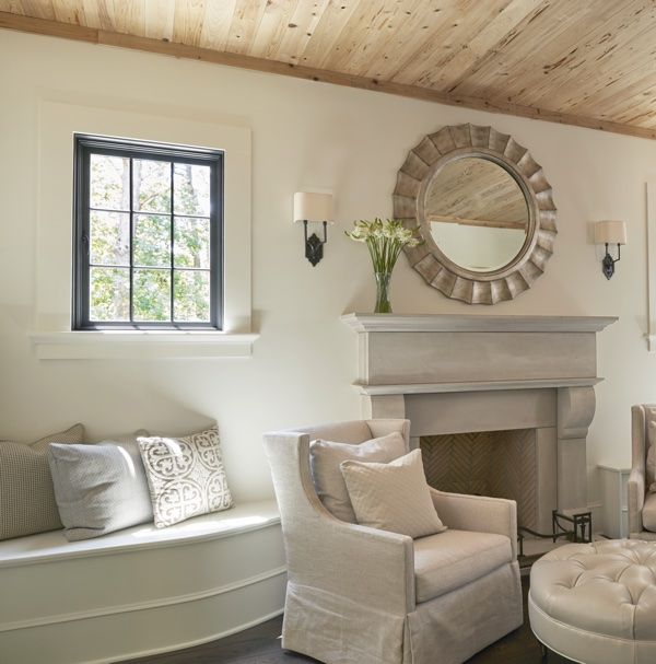 Mantle. Christopher Architecture & Interiors hearth room in Indian Springs, AL