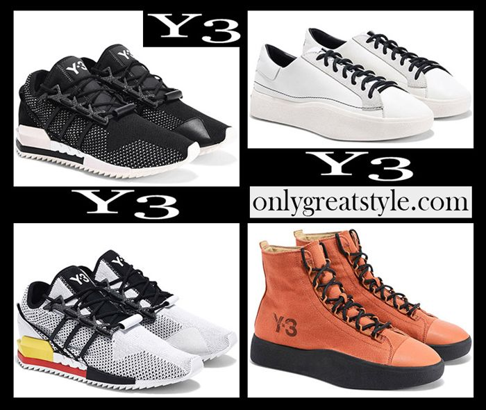 053580525ba01 New arrivals Y3 sneakers 2018 2019 women s fall winter