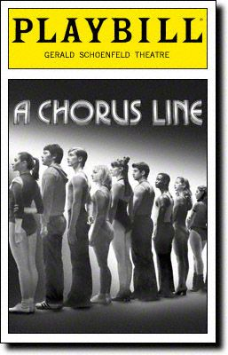 A Chorus Line Playbill Covers on Broadway - Information, Cast, Crew, Synopsis and Photos - Playbill Vault