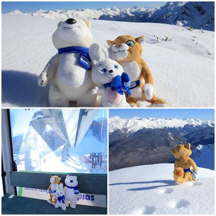 Sochi 2014 Winter OC plush mascots