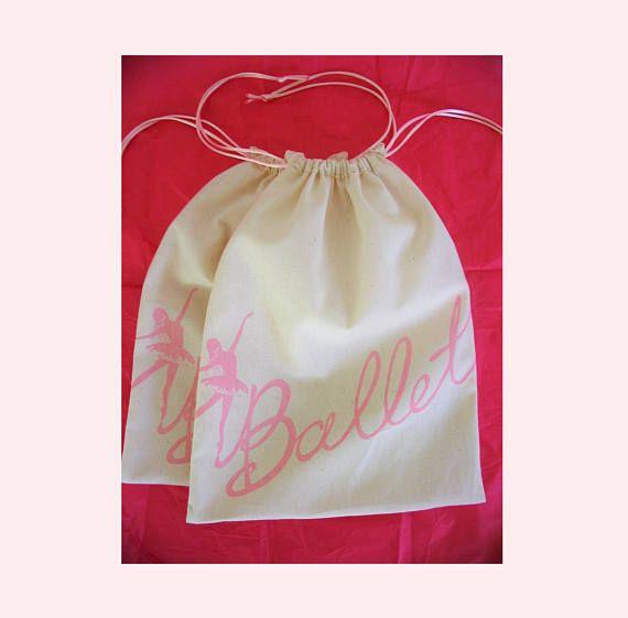 Ballet BALLERINA DRAWSTRING FAVOR Gift Bags Free Std.Shipping