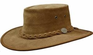 BARMAH HATS 1025 SQUASHY SUEDE LEATHER HAT