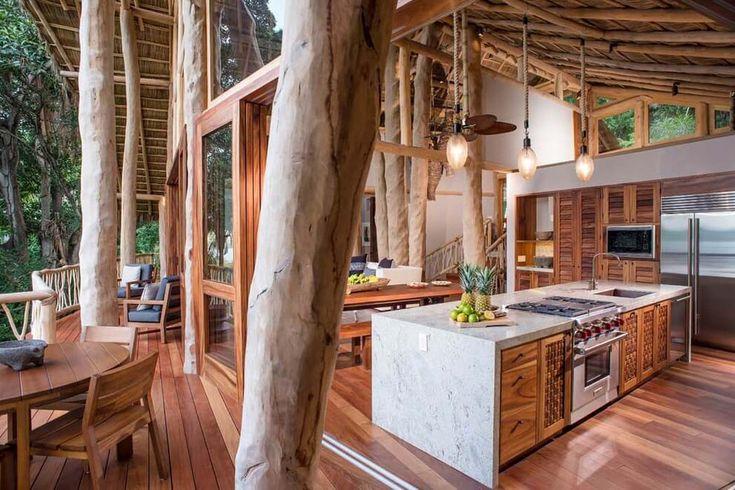 Originale maison location de vacances au mexique avec une belle vue et architecture originale