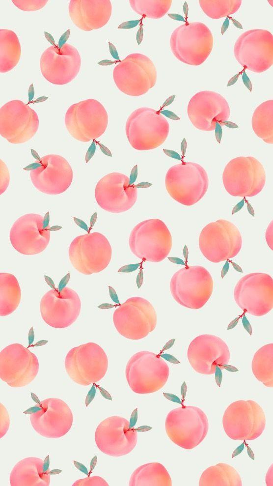 Cute Prints And Patterns Designs Peach Wallpaper Fruit Wallpaper Cute Patterns Wallpaper