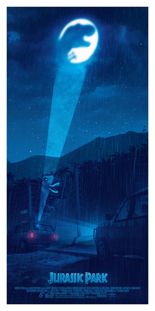 Jurassic Park: Turn the Light Off -Created by Patrick Connan