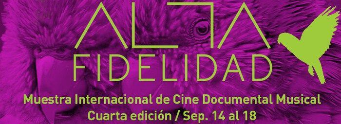 Inicia la muestra de Cine Documental Musical Alta Fidelidad 2016 #cine