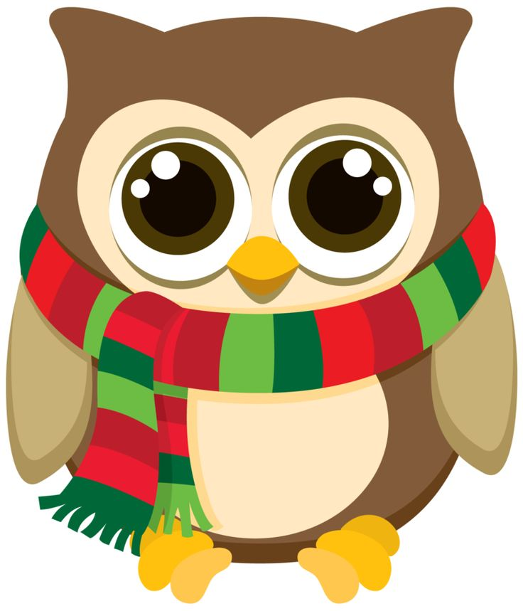 Clip Art Christmas Owl Clip Art christmas owl in gift box clip art baohos pinterest art