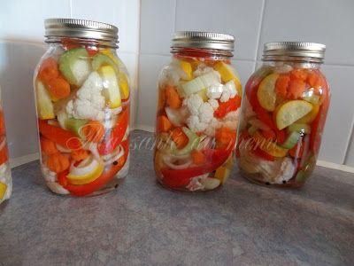 Ma santé au menu: Jardinière de légumes marinés