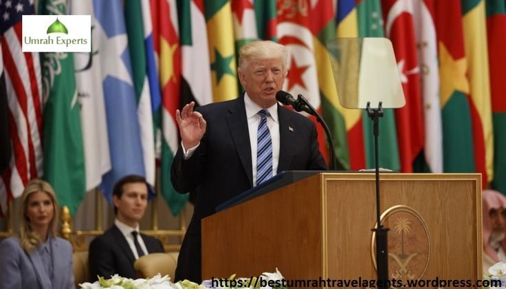 These days, the visit of Donald Trump has become a hot topic of the news and everyone is discussing about his visit in Saudi Arabia. The speech that he gave to the Arab people is also highly discussed among the people.
