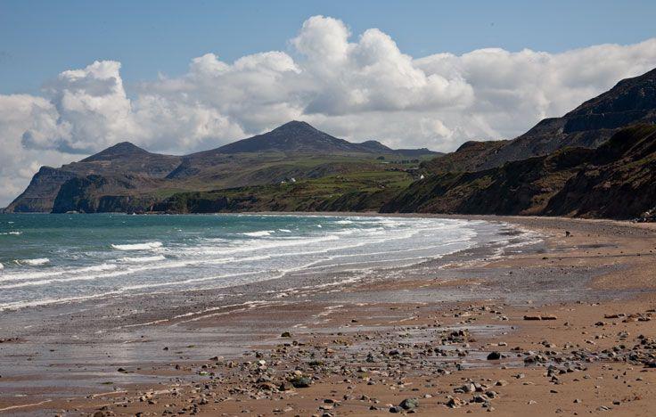The beach at Aberdaron, Llyn Peninsula.