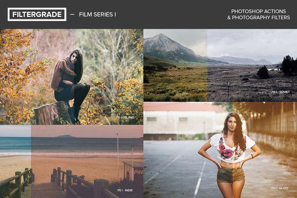 FilterGrade Film Series I by FilterGrade on @creativemarket