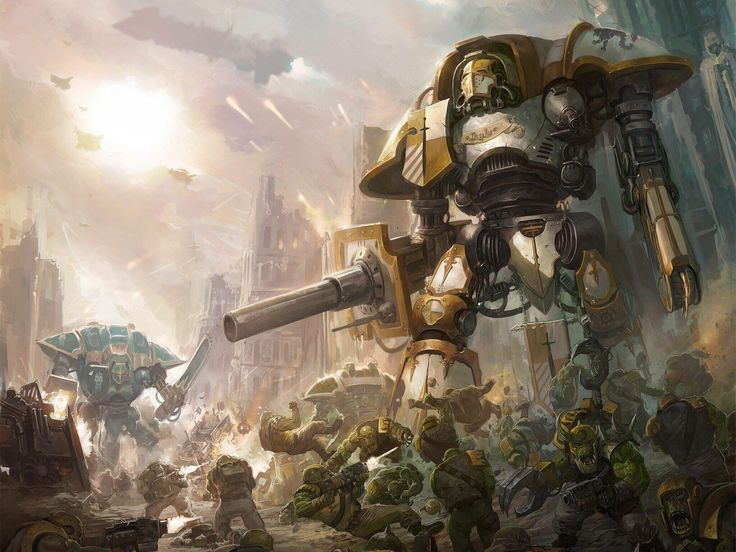 66 best Imperial knights and Titans Warhammer 40k images ...