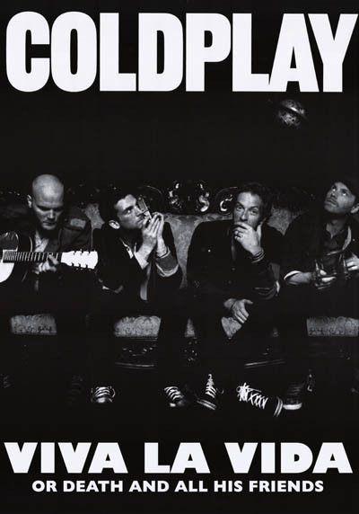 Coldplay Viva La Vida Poster 23x33 – BananaRoad