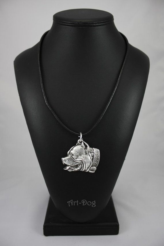 Pit Bull dog necklace limited edition ArtDog by ArtDogshopcenter