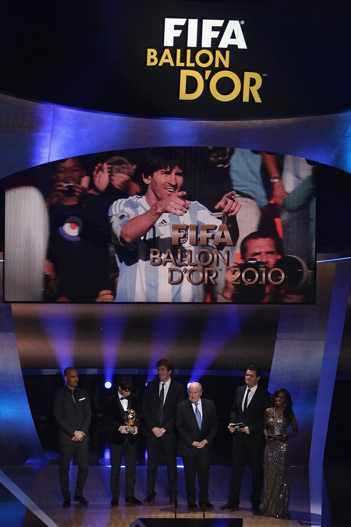 Lionel Messi Photos: FIFA Ballon d'Or Gala 2010