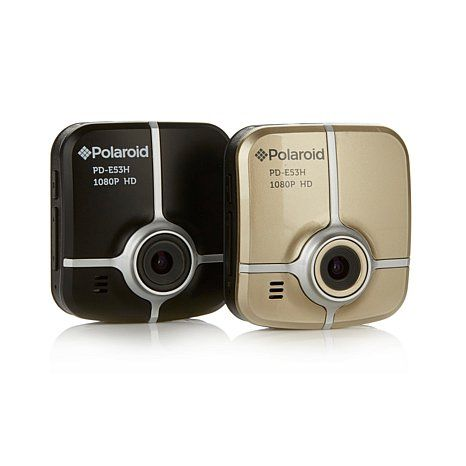 Polaroid Full HD Dash Cam 2-pack w/16GB Card w/Software