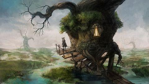 「霧の平原」/「よー清水」のイラスト [pixiv]
