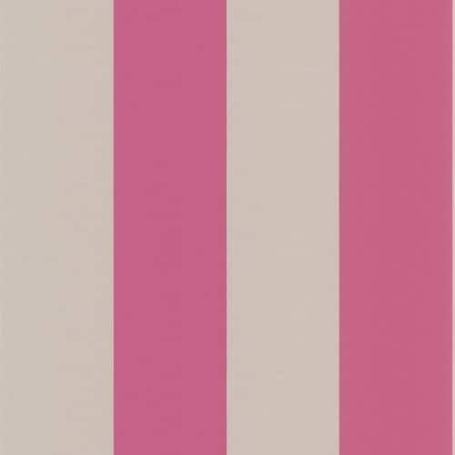 Brewster DL30630 Purcell Pink Stripe Wallpaper