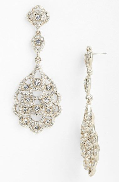 Gorgeous 'eiffel' statement drop earrings http://rstyle.me/n/uk9nwn2bn