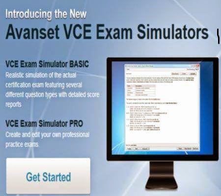 Avanset VCE Exam Simulator Pro v1.0.2 Crack Full version Free Download