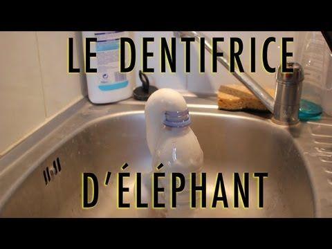 Expérience - Le dentifrice d'éléphant - Dr Nozman (With subtitles) - YouTube