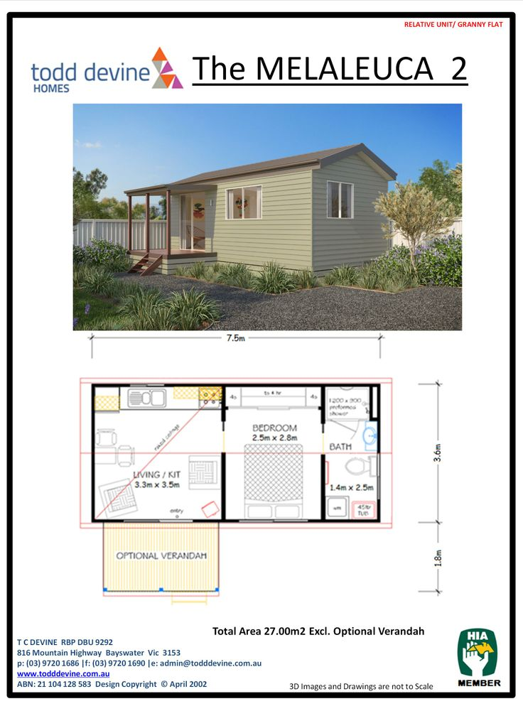 20 best granny flat designs images on pinterest flat design todd devine homes granny flatdpu the melaleuca 2 malvernweather Image collections
