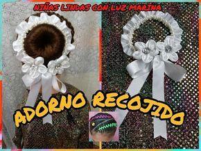 ADORNO PARA CHONGO O RECOJIDO DE BALLET/BELLO/ FACIL. - YouTube