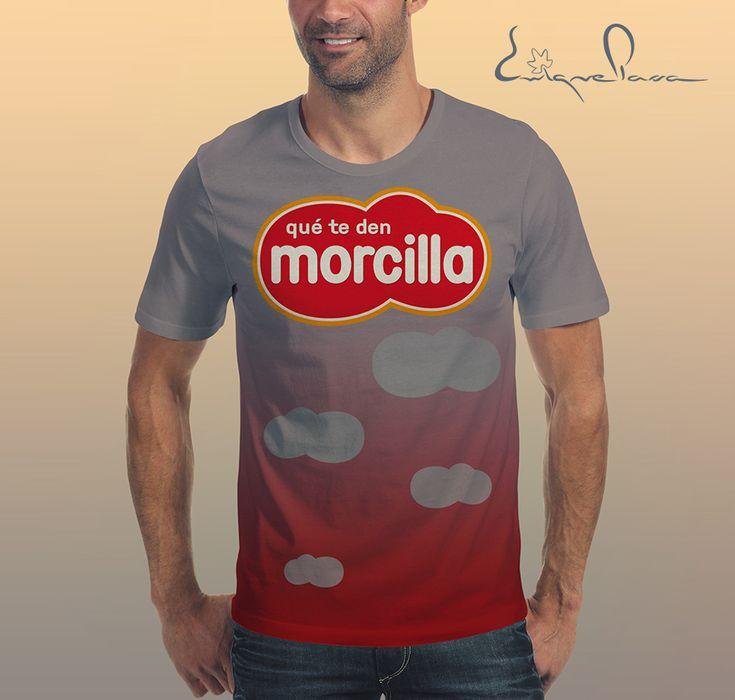 Camiseta Morcilla. Diseño Enrique Parra